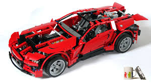 lego technic ferrari motorized supercar 8070 robotsquare