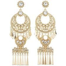 gold chandelier earrings gold chandelier earrings polyvore