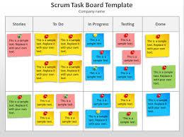 scrum task board template powerpoint jpg 627 468 agile project