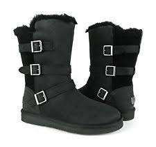 s ugg australia black grandle boots ugg australia buckle mid calf boots for ebay