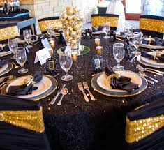 Gold Spandex Chair Covers Black Ruched Chair Cover With Gold Sequin Spandex Chair Sash