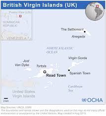 Puerto Rico Airport Map by British Virgin Islands Reliefweb