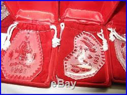 waterford 12 days of ornament set rainforest islands ferry