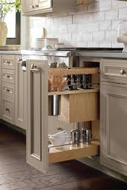 Kitchen Pull Out Cabinet by Utensil Pantry Pull Out Cabinet With Knife Block Decora