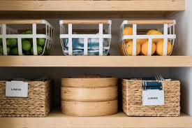 how to organize kitchen cabinets in a small kitchen small pantry organization ideas hgtv