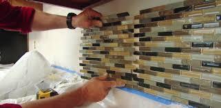 how to install glass tile backsplash in kitchen how to install glass tile backsplash gallery art home design