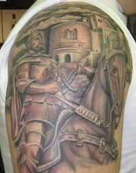 tattoo designs knights templar 26 armor shoulder knight tattoo
