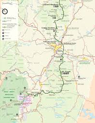 Nc Maps Blue Ridge Parkway Maps Travel Information Hiking Trails Guides
