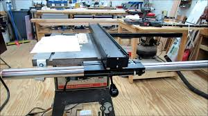 aftermarket table saw fence systems vega pro 40 fence installation youtube