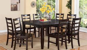 Length Of 8 Person Dining Table by Dining Room Stunning Ideas 8 Chair Square Dining Table