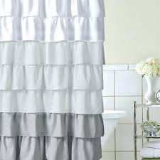 Ruffled Shower Curtains White Ruffle Curtains Ruffle Curtain Panel White Ruffle Curtains