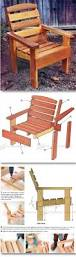 Wood Deck Chair Plans Free by 25 Best Wooden Chair Plans Ideas On Pinterest Wooden Garden