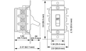 leviton ms402 ds 40 amp 600v double pole single phase ac motor