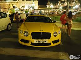 bentley yellow bentley continental gt v8 s 19 august 2015 autogespot