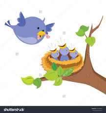 mommy clipart baby bird pencil and in color mommy clipart baby bird