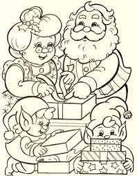 santa claus and mrs claus coloring pages www rtvf info www