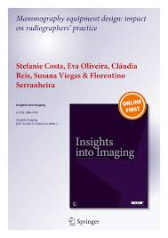 mammography equipment design impact on radiographers u0027 practice