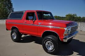 bronco car 2016 1979 ford bronco ranger xlt