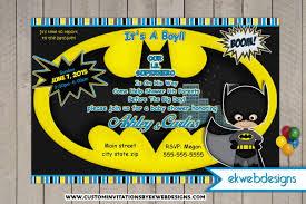 marvel baby shower batman baby shower invitations yourweek d72500eca25e