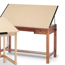 Wooden Drawing Desk Mayline U2013 Product Detail U2013 Futur Matic Drawing Table With