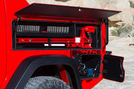 jeep truck 2018 lifted jeep wrangler red rock responder concept what it u0027s like to drive