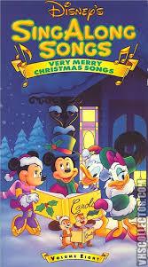 disney sing along songs volume 8 merry songs