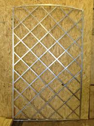 decor galvanised metal trellis and recycled wood board for home decor