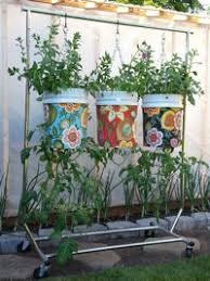the garden bucket upside down vegetable planter