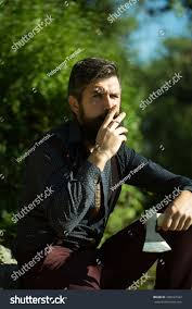 one strong stylish male logger young stock photo 330037322
