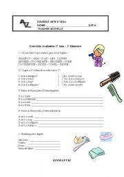 printable hygiene activity sheets english teaching worksheets hygiene