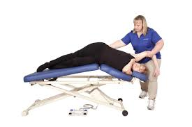oakworks electric massage table electric massage table on casters height adjustable 3 section
