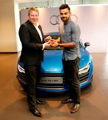 who owns audi car company virat kohli drives it in style