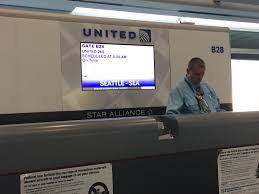United Airline Carry On by United Airlines Stuck At The Airport
