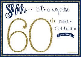 birthday invitation template printable free printable 60th birthday invitation templates drevio