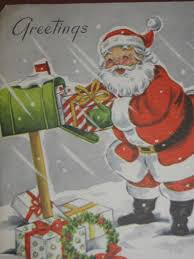 248 best vintage santa images on vintage