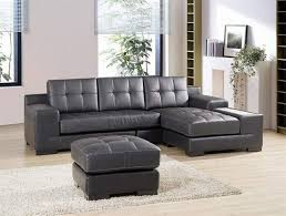 Grey Leather Sectional Sofa Gray Leather Sectional Sofas Hotelsbacau Within Sofa