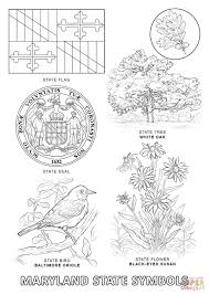 flag of maryland coloring page best coloring pages creativemove me