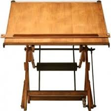 Vintage Wooden Drafting Table Modern Drafting Tables Foter