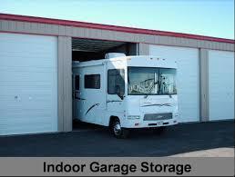 Motorhome Garage Secure Storage Rv Trailer Camper Boat Indoor Covered Outdoor