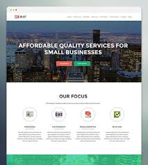30 best wordpress business themes 2017 themeisle