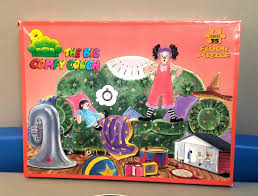 comfy couch vintage the big comfy couch floor puzzle 1995 made in usa
