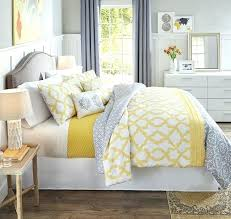 Yellow And Grey Bed Set Comforter For Grey Bedroom Coral And Grey Bedroom Medium Size Of