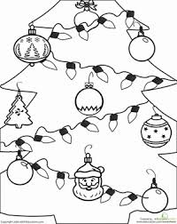 free christmas worksheets for first grade worksheets