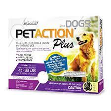 amazon black friday in july pet items amazon com petaction plus flea u0026 tick treatment for large dogs