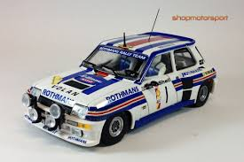 renault 5 turbo group b renault 5 turbo team slot 11808