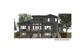 house plan for a rear sloping lot 64452sc architectural