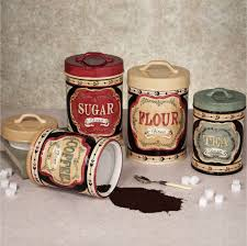 country canisters for kitchen kitchen remodeling mason jar canister set 1950 s kitchen