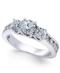channel set engagement rings channel set engagement ring 1 1 2 ct t w in