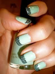 nail designs mint color choice image nail art designs