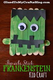 Halloween Arts Crafts by Best 25 Frankenstein Craft Ideas On Pinterest Halloween Canvas